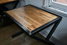 Oaken Steel Office Table