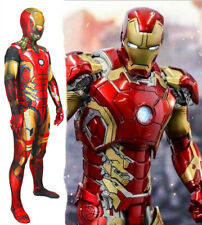 Avengers Endgame Iron Man Mark 85 Jumpsuit Cosplay Costume For Adult & Kids COS