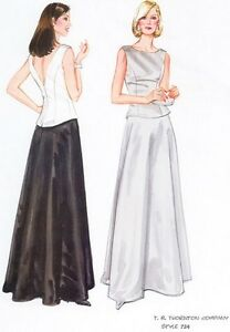 Formal 2 Piece Dresses Bridesmaid Wedding Prom Choir Many Colors Plus Sizes #724