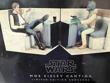 Star Wars RARE Mos Eisley Cantina Book ends limited edition by Gentile Giant