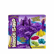 Kinetic Sand - Sandbox and Molds Activity Assorted Colours