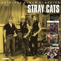 STRAY CATS - ORIGINAL ALBUM CLASSICS 3 CD NEW!