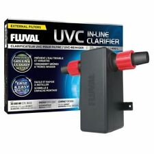 More details for fluval uvc in-line uv clarifier aquarium clear water greenwater filter fish tank