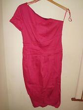 GOK WAN 8 pink Bodycon Tulip Dress Wiggle Shapewear NEW