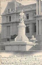 B98185 lausanne monument de guillaume tell  switzerland