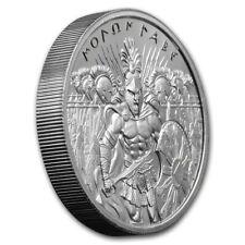 2 oz 999 Silber Round Molon Labe Ultra High Relief Spartaner Soldat 2te Ausgabe