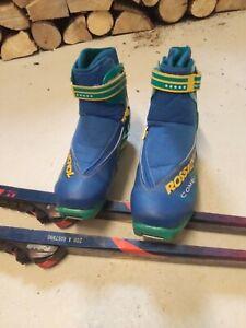 Rossignol Combi Cross Country Ski Boots UK8 mens