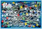Prym Glass-head Pins 30mm X 0.60 10g