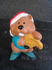 Hallmark Merry Miniatures 1995 Toymaker Beaver Qfm8289