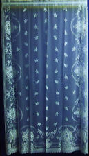 "Sheer Eloquence 60"" x 84"" White Dorsette Lace Panel"