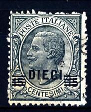 ITALIA - Regno - 1925 - Francobolli del 1901-1923 soprastampati - 10 c. su 15 c.