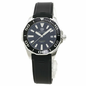TAG HEUER Aqua racer Watches WAY111A Stainless Steel/Rubber mens
