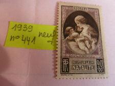 N° 441-  ANNEE 1939 NEUF SANS CHARNIERE VOIR PHOTOS