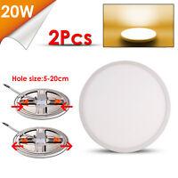 30X3W Ultraslim LED Panel Einbaustrahler Deckenleuchte Einbau Lampe Kaltweiß
