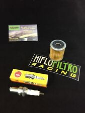 YAMAHA 350 WARRIOR / RAPTOR 89-13 OIL FILTER + SPARK PLUG