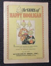 1932 The Story of HAPPY HOOLIGAN by Frederick Opper VG+ 4.5 McLoughlin Bros RARE