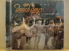 THE BEACH BOYS LIVE - THE 50TH ANNIVERSARY TOUR CD! 2 CDS 41 TRACKS NEW & SEALED