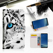 Leopard Wallet Case Cover For Samsung Galaxy S8 - A013