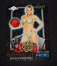2016 Benchwarmer JESSICA ROCKWELL Sin City #9 Light Daylight Nightclub Promo Hot