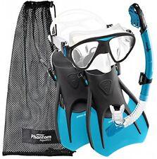Phantom Aquatics Speed Sport Signature Mask Fin Snorkel Set, Adult