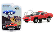 GREENLIGHT 1973 FORD FALCON XB RED PEPPER W/ BLACK STRIPES 1/64 DIECAST  29946