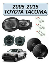 Fits 2005-2015 Toyota Tacoma OEM Speaker Replacement Combo Kit, PIONEER