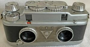 Bell & Howell TDC Stereo Vivid 35mm Film Camera with Case