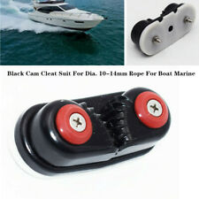 1PC 33Black Cam Cleat Suit Clamp For Dia. 10-14mm Rope For Boat Marine Accessory