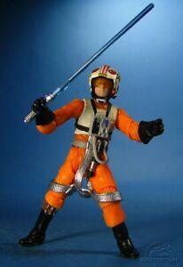Luke Skywalker X-Wing Droid Factory WALMART Set 30th Anniversay Figure ....LOOSE
