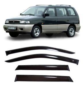 For Mazda MPV (LV) I 1988-1999 Window Visors Sun Rain Guard Vent Deflectors