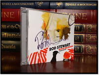 Blood Red Roses ✎SIGNED♫ by ROD STEWART Brand New Sealed CD Autographed Booklet