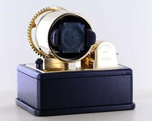 Scatola del Tempo 1RTM Uhrenbeweger Messing vergoldet watch winder brass plated