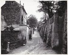 Rue Saint Vincent Paris Montmartre circa 1900 Tirage postérieur circa 1950
