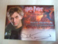Harry Potter David Tennant Autograph card Barty Crouch goblet of fire