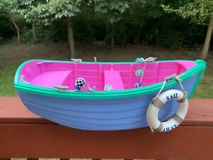 Our Generation American Girl Doll Row Boat w/ Accessories