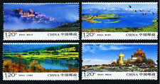 Timbres stamps timbres Chine 2010-23 Shangri-la Tibet Buddhism Comp. Set of 4