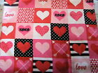 HEARTS & LOVE~(1) One Whole KITCHEN, BATH, SHOP HAND COTTAGE TOWEL mach wash