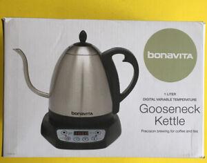 Bonavita 1.0L Digital Variable Temperature Electric Gooseneck Kettle——26