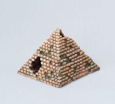 kleine Pyramide 12cm Aquarium Polyrin Ägypten  Aquarium Terra Dekoration Deko