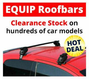 Renault Megane II Roof Bars Equip Roof Rack Mark 2 5 Door 2002-2008 CLA608