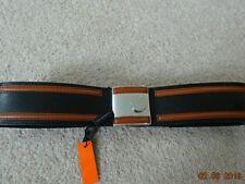 Karen Millen Black and Tan Belt