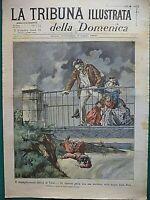 1899 TRAGEDIA TERNI FERRY-BOATS COSTUME VELLETRI PARRE BERGAMO UNIVERSITA' ROMA