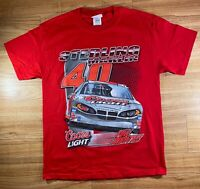 Sterling Marlin Coors light double sided men's Chase authentics T-shirt size M
