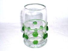 Beerennuppenbecher wohl Theresienthal  klares Glas mit aufgesetzten Nuppen