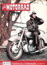 Das Motorrad Heft 3 12.Februar 1955 Test Ardie BD 176 Neuer ILO Moped Motor