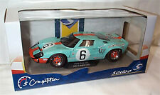 Ford GT40 24 Hour Le Mans 1969 Gulf 6 Solido 1-18 scale Diecast model new in box