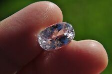 6.74ct Light Pink Kunzite Oval Cut Gemstone