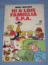 HI & LOIS FAMIGLIA S.P.A. - Mort Walker - Oscar Mondadori  (K3)
