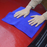 Clay Bar Microfibre Mitt  Car Cloth Towel Detailing Cleaning Cloth 30cm*30c L8Y7