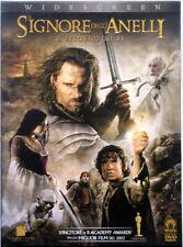 Dvd el Señor de los Anillos - El Regreso de Re - Costumbre case 2 discos Usado